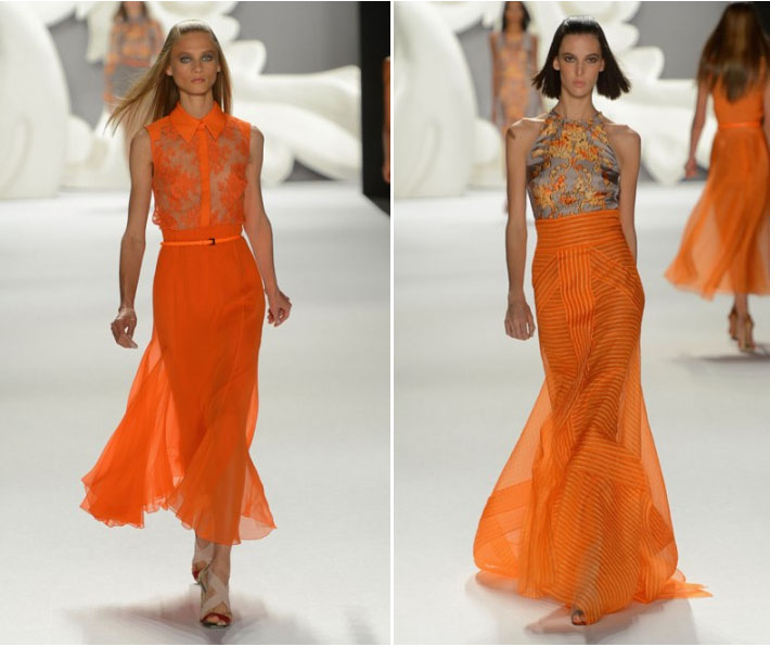 CAROLINA HERRERA spring 2013 runway photos