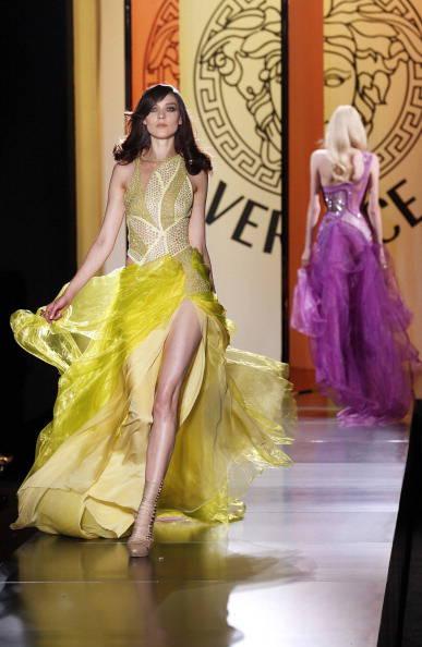 Models present creations by Italian desi