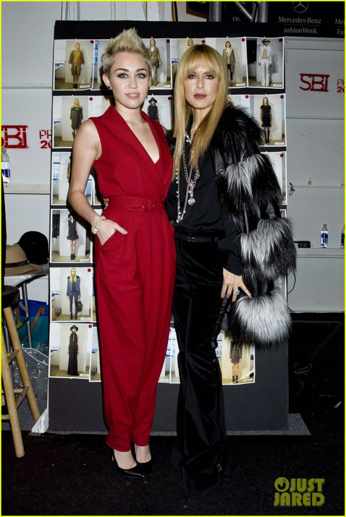 The Rachel Zoe Fall 2013 fashion show during Mercedes-Benz Fashion Week on February 13, 2013 in New York City.