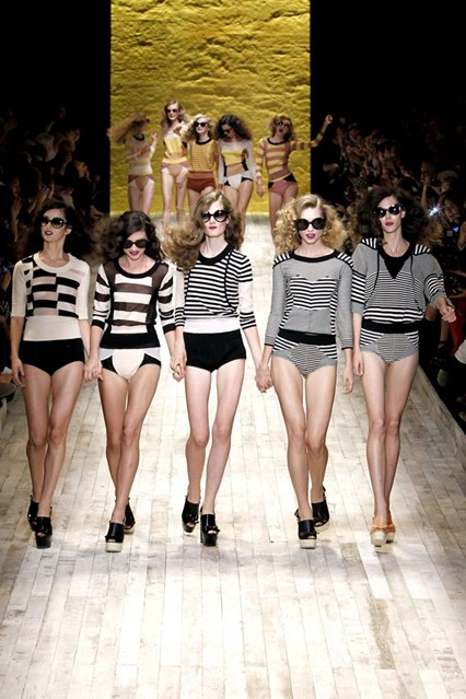 Stripe Fashion Trend Spring 2011