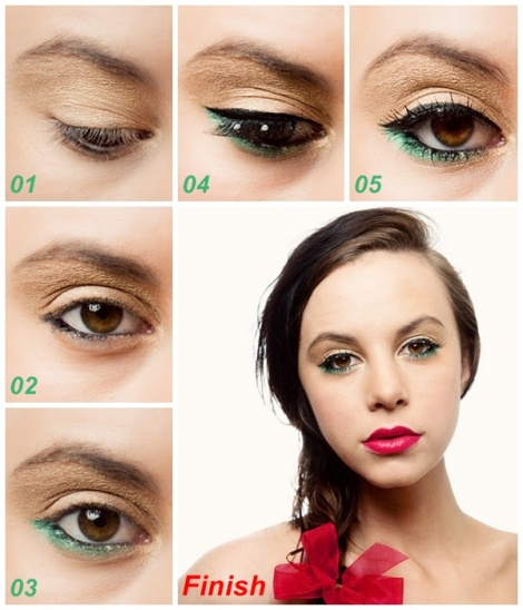 Christmas-Makeup-Tutorial