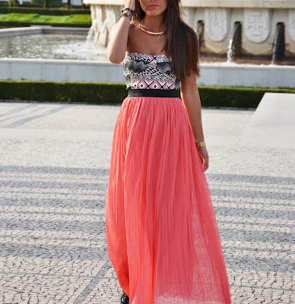 dslk8u-l-610x610-skirt-coral-skirt-coral-maxi-skirt-coral-maxi-skirt-pink-maxi-skirt-shirt