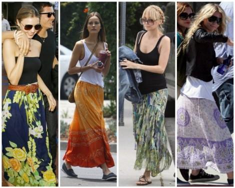 Maxi-skirt-various