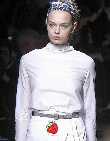 YSL+strawberry+dress