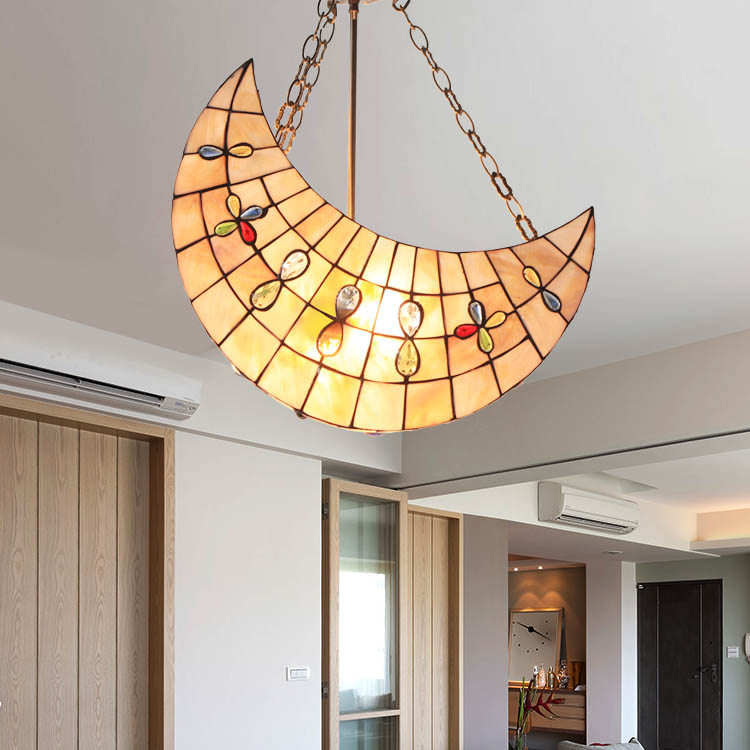 NEW-Fashion-child-real-pendant-light-sallei-font-b-moon-b-font-pendant-light-rustic-bedroom