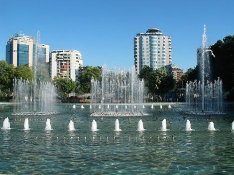 tirana.fontana