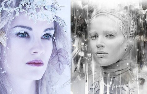 10-Frozen-Ice-Snow-Queen-White-Winter-Make-Up-Ideas-2012-For-Girls-11