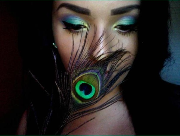 makeup-from-peacock-tutorial