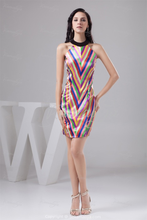 Beautiful-Solemn-Hot-Sales-Wonderful-Fashion-Rainbow-Short-Satin-High-Neck-Sleeveless-Homecoming-Dress-21850-74427