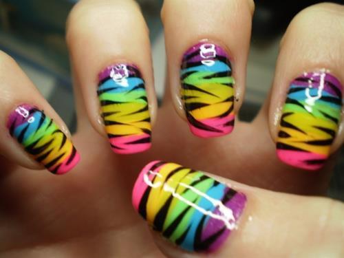 beauty-fashion-nails-rainbow-style-image-favim-26756