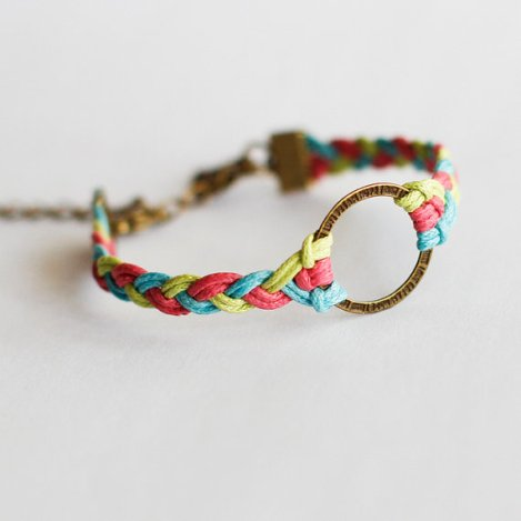 braided-cotton-cord-charm-bracelet-rainbow-color-braceletcool-braceletstylish-beaceletfashion-for-girlscool-fashion-for-girls