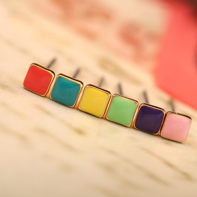 Cute-candy-color-stud-earrings-fashion-lovely-font-b-rainbow-b-font-small-earring-6-pcs