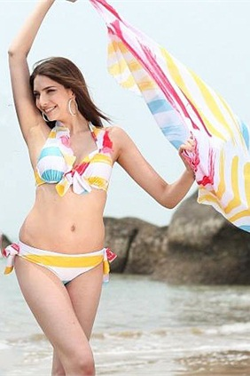 Rainbow-Fashion-Ladies-Summer-Chiffon-Beach-Dress-12187-22520