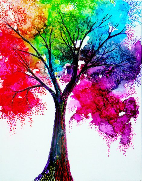 rainbow_tree_by_annmariebone-d5tdbe5