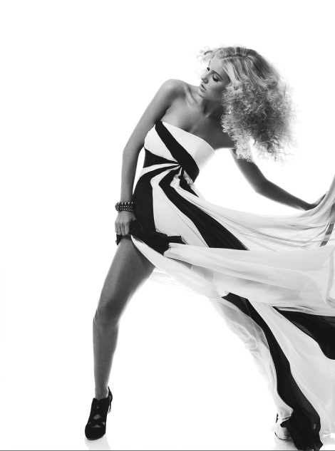 Black & White action photography for fashion advertising by Kevin Michael Reed.