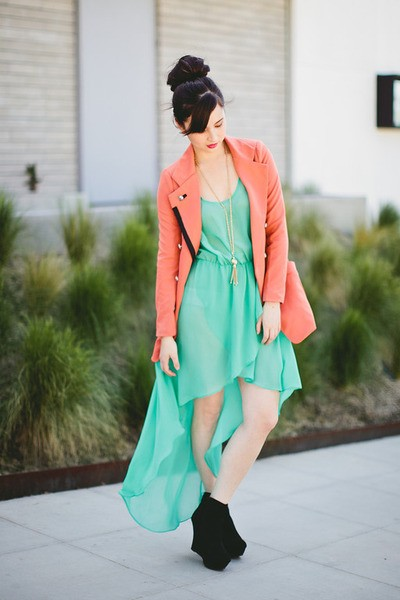 st patricks day outfit ideas - st patricks day mint dress-f11746