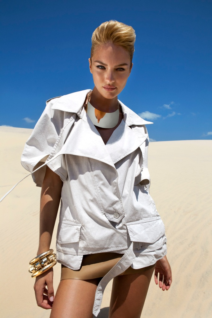 Candice Swanepoel by J.R. Duran (Queen Of The Desert – Vogue Brazil October 2011) 7