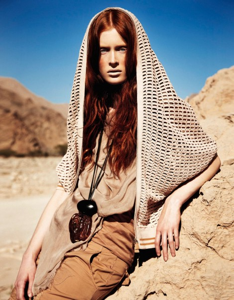 iiiinspired _ mode.newslicious _ Ilva Hetmann by Sam Bisso (Desert Goddess - Elle Germany June 2012)