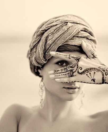 turban henna bollywoodfashiontumblr