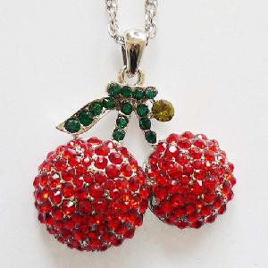 34178-Cute-Lovely-Fruit-Cherry-Pendent-Jewelry-Fashion-Women-Apparel-Accessory-Manufacturer-Supplier-1