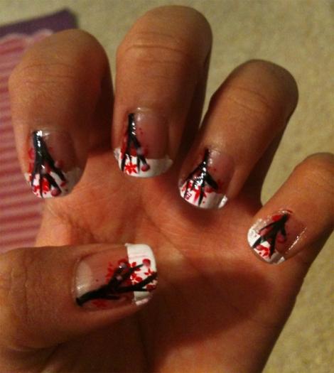Cherry-Blossom-Nails-By-Murasaki-Love