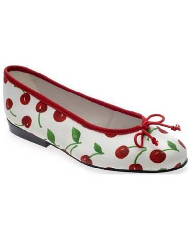 cherry_print_ballet_flat