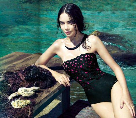 Costume-intero-a-fascia-estate-2014-collezione-Parah